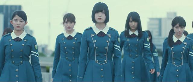 silent majority keyakizaka46 kisah lagu