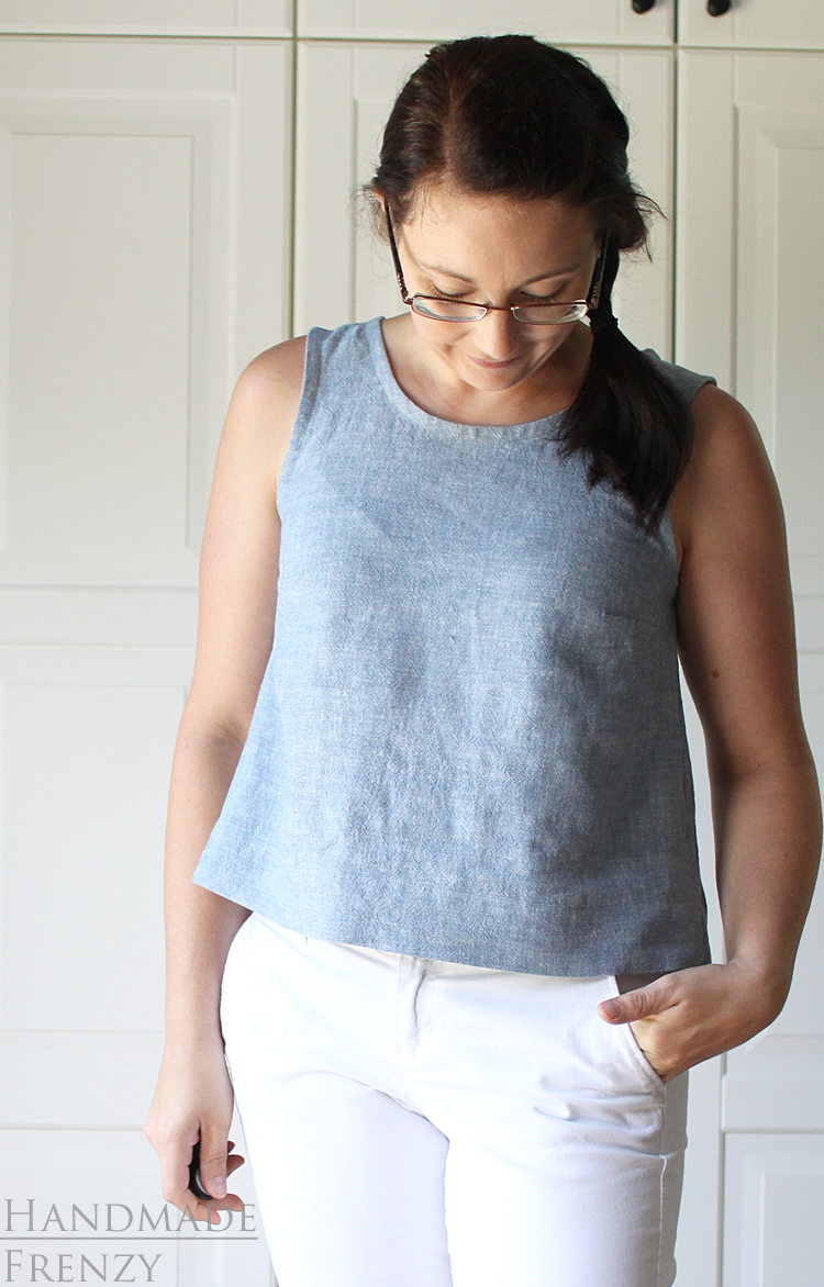 Willow Tank // Sewing For Women
