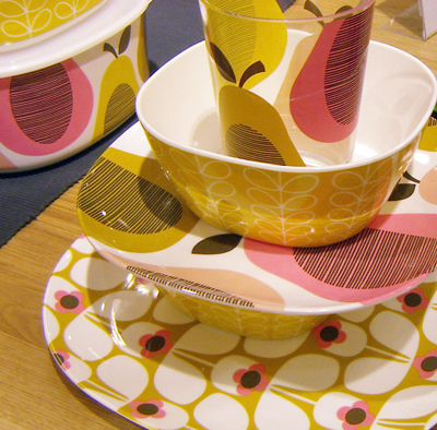 walking through john lewis on sunday i was pleased to spot a whole table full of new orla kiely picnicware. featuring plates tumblers beakers ... & print \u0026 pattern: ORLA KIELY - ss2013 picnicware