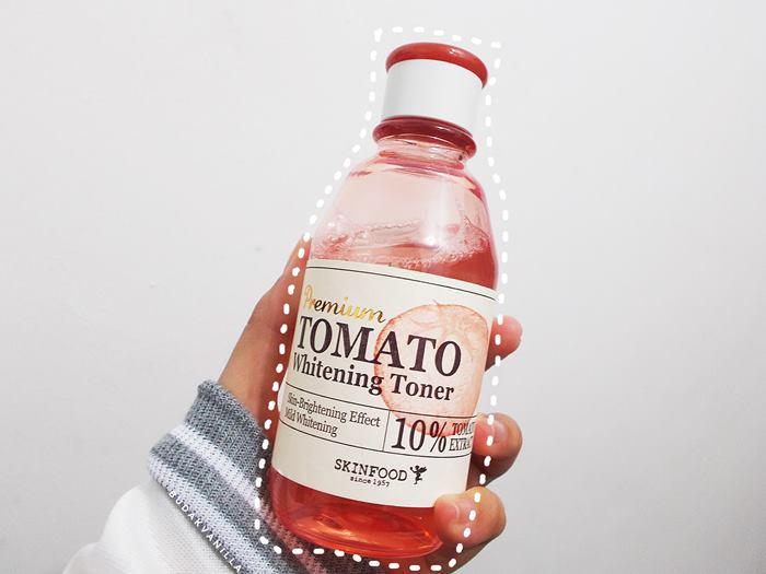 skinfood premium tomato whitening toner