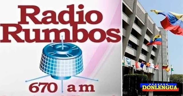 Emisora Radio Rumbos fue sacada de l aire por orden del TSJ de Maduro