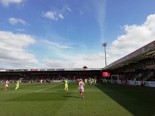Cheltenham Town vs Exeter 2019