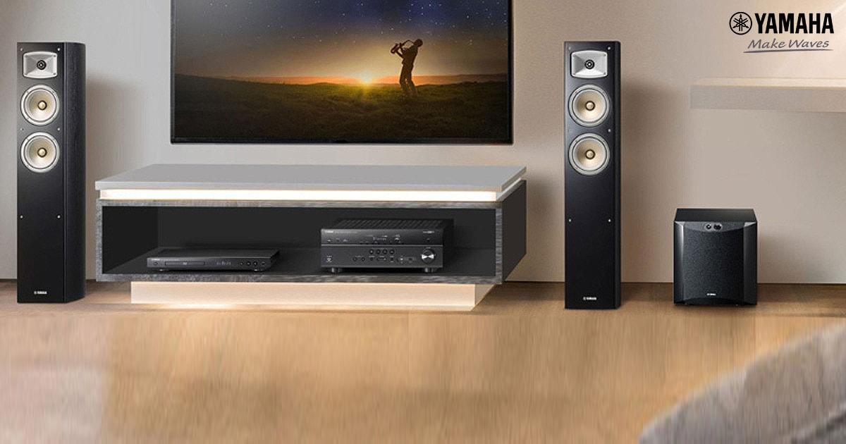 Loa Yamaha NS555 âm thanh hoàn hảo, thiết kế tinh tế