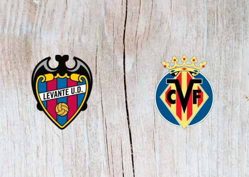 Levante vs Villarreal - Highlights 10 March 2019