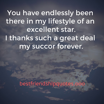 Thank You Friendship Quotes