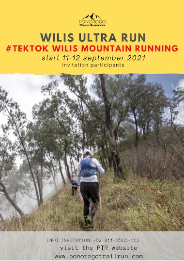 WUR Tektok MT Wilis Mountain Running 11-12 Sep 2021