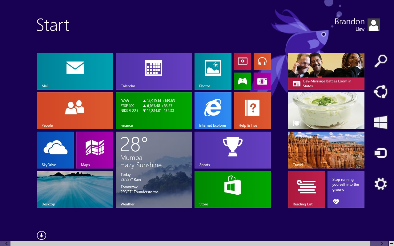 My Tech Sharing  Windows 8 1 Preview     First Look