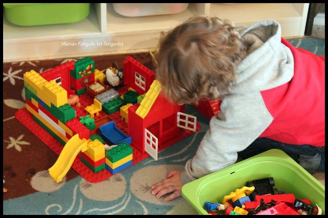 construction Duplo légo