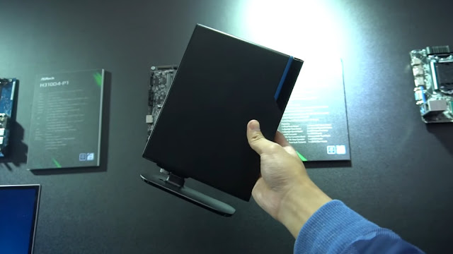 PC Ukuran Sejengkal tetapi Pakai Core i9 + GTX 1080, Preview Asrock DeskMini