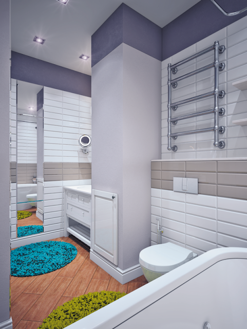 Wall Tiles Design For Bathroom