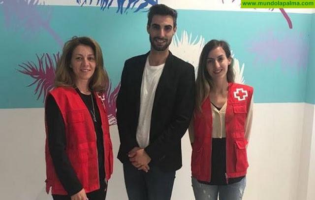 Cruz Roja inicia el servicio de transporte adaptado para usuarios del Centro de Día de Las Ledas en La Palma