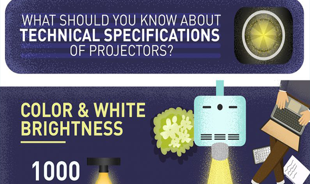 What Should You Know About Technical Specifications Of Projectors? #infographic