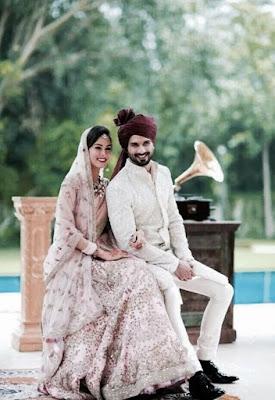 newlywed Shahid-Mira