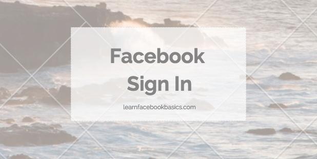 Facebook Login & Facebook Sign in Account
