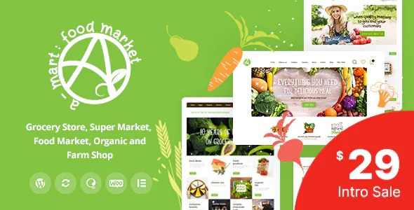 Organic Products Shop WordPress Theme