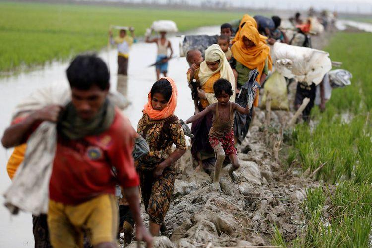 Pengungsi Rohingya di Aceh Sebut Indonesia Miskin, Berharap Bisa ke Amerika. Begini Ungkapan Kegeraman Netizen