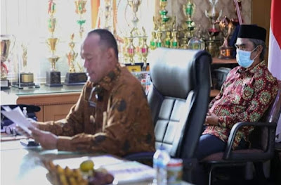 Musrenbang RKPD TA 2021, Bupati Beberkan Kondisi Ekonomi Tebo Ditengah Wabah Covid-19