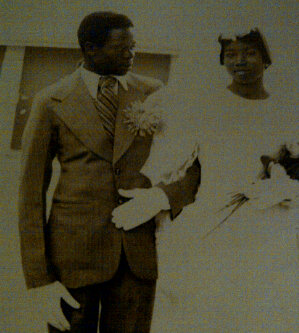 Governor Oshiomhole's wedding picture