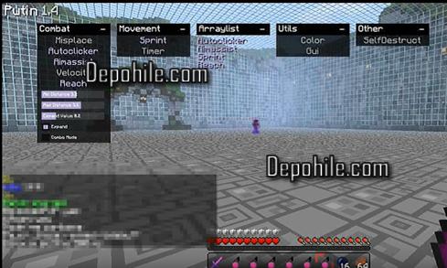 Minecraft 1.8.9 Putin v1.4 Hack Client İndir 2020 Forge +Video