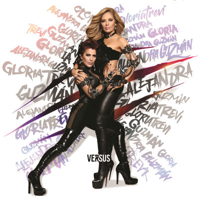 Gloria Trevi & Alejandra Guzman - Versus -  Album Download, Itunes Cover, Official Cover, Album CD Cover Art, Tracklist