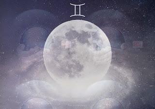 new moon gemini 2021, trăng non song tử 2021, trăng non tháng 6 2021