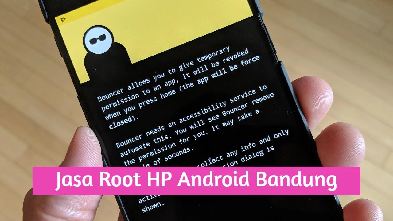 Jasa Root HP Android Bandung