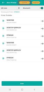 Cara Setting Printer Bluetooth di Aplikasi Topindopay