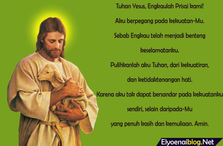 doa kristen katolik dan protestan mohon ketenangan