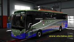 Mod Bus Scorpion X BSW Untuk Game ETS2 Versi 1.26 Sampai Versi 1.31