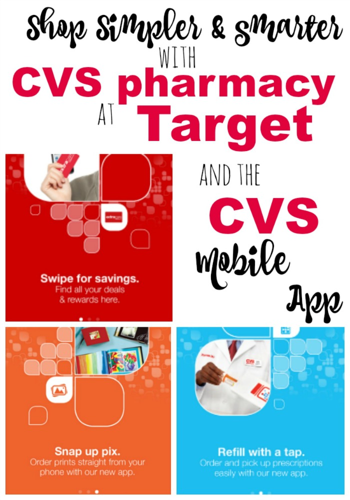 Get access to innovative digital tools and loyalty programs with CVS pharmacy at Target and the CVS mobile app