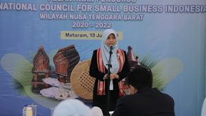 Istri Gubernur Zulkieflimansyah Resmi Jabat Ketua ICSB Provinsi NTB