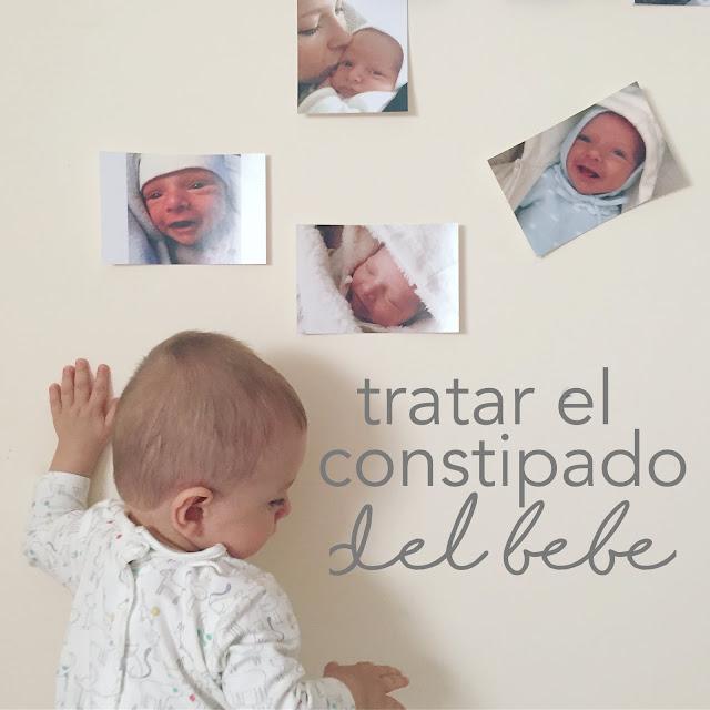 como tratar el constipado del bebe