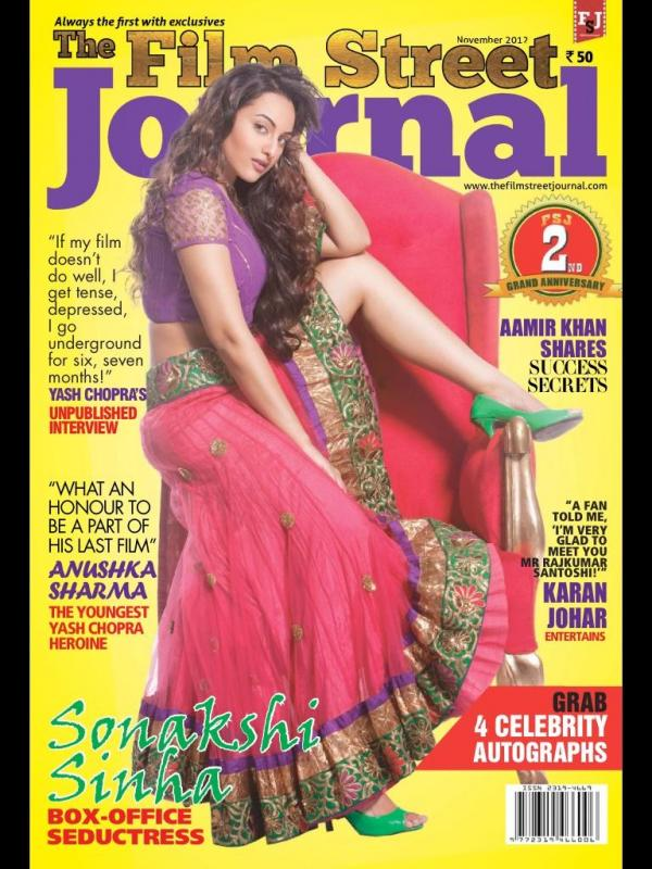 Sonakshi Sinhahot Film Street Journal November 2012