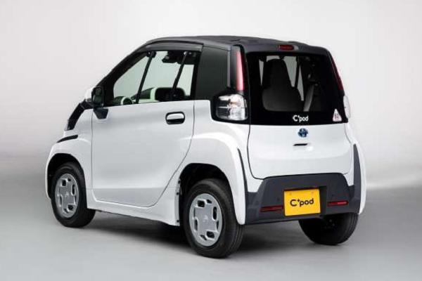 Mobil Listrik Mini Toyota C+Pod Hadir di IIMS Hybrid 2021