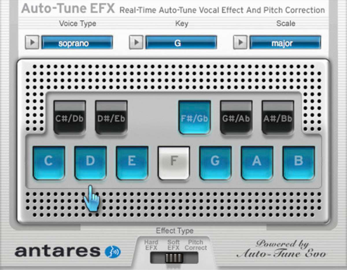 Auto-Tune EFX v1.0.2.2 Full version
