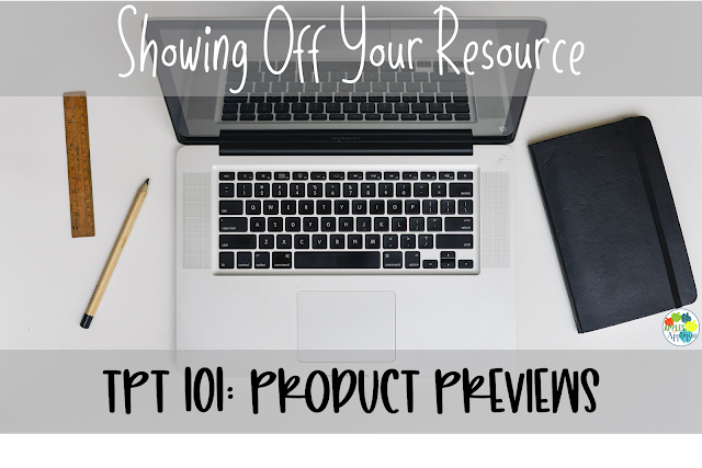 Selling on TPT 101: Product Previews | Apples to Applique