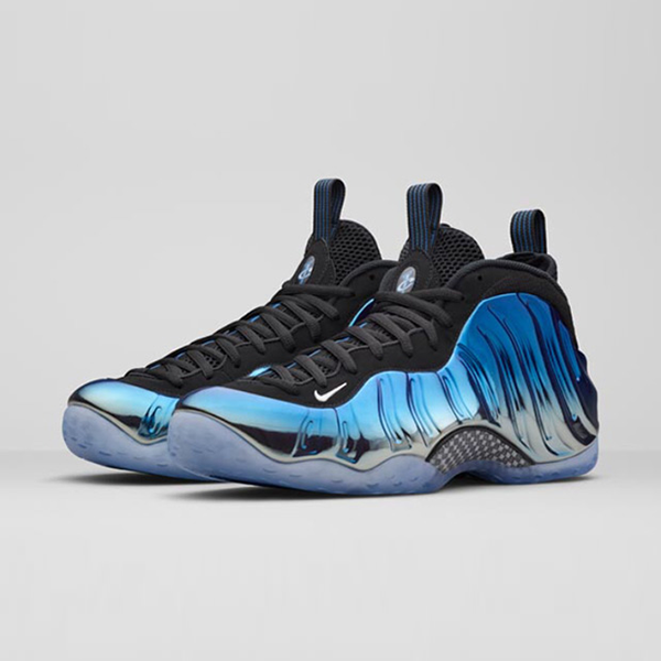 huge discount 35151 217ce Nike Air Foamposite One Premium. Metallic Silver, White, Dark Neon Royal,  Black. 575420-008. Since 1997, the Air Foamposite One has been introduced  in ...