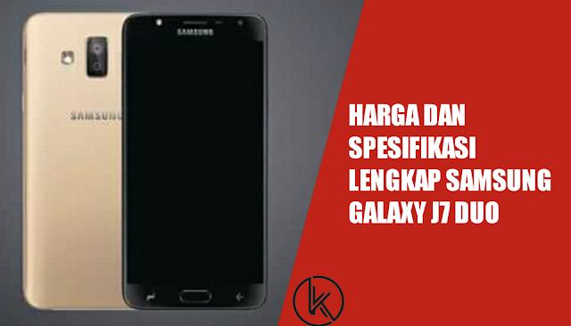 Spesifikasi Samsung Galaxy J7 Duo