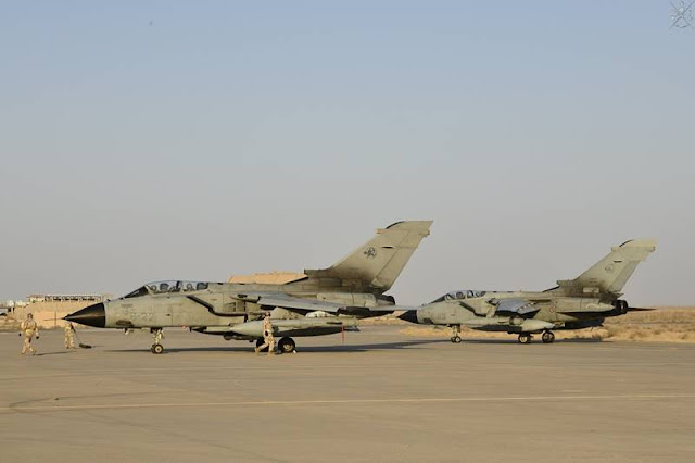 Italian Tornado Inherent Resolve Kuwait