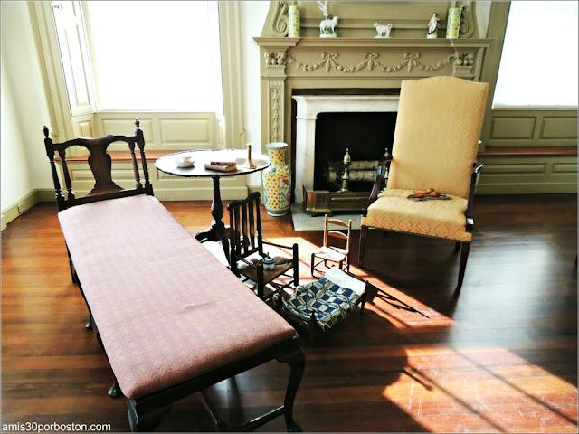 Habitación de los Enfermos en la Mansión de John Brown en Providence, Rhode Island