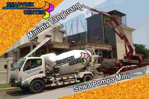 Harga Beton Minimix Tangerang Per Kubik Terbaru 2021