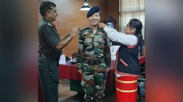 अरुणाचल से सेना में पहली महिला ले. कर्नल बनीं डोमिंग - newsonfloor.com