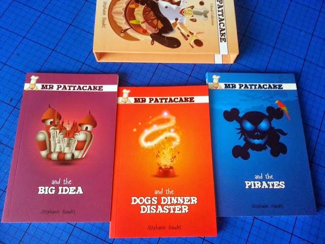 The 3 Mr Pattacake children's key stage 1 books