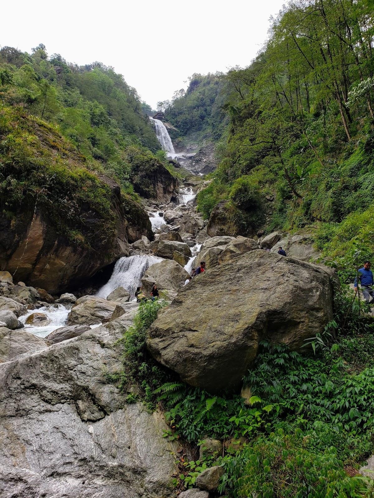 Naga Water Falls, Sikkim