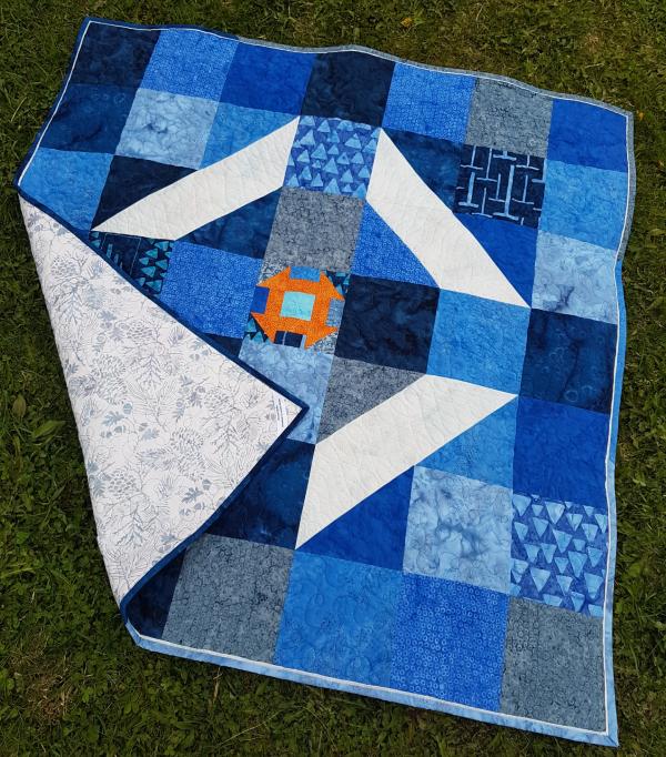 Churn quilt pattern | DevotedQuilter.com