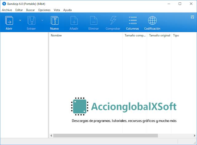 Bandizip 6.17 + Portable | Perfecta alternativa a WinRAR como compresor de archivos para Windows