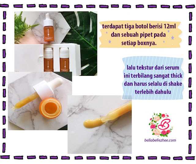 Packaging dan Tekstur Pure Vitamin C Skeyndor