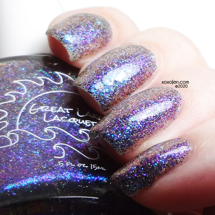 xoxoJen's swatch of Great Lakes Lacquer Resolve