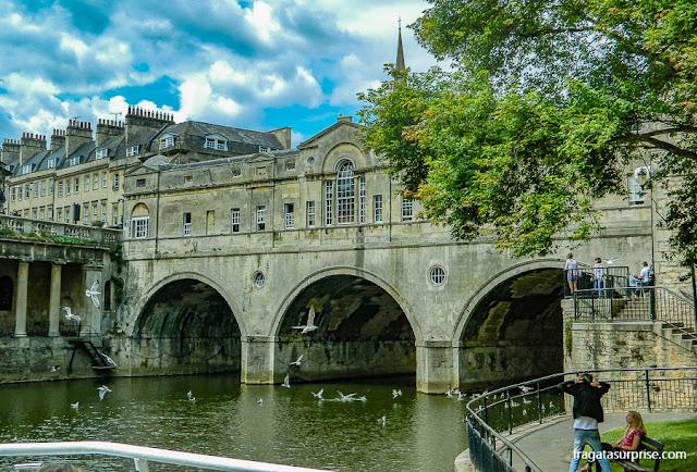 Pulteney Bridge, Bath, Inglaterra