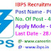 IBPS Recruitment 2019 Apply Online For 4336 MT / PO Jobs
